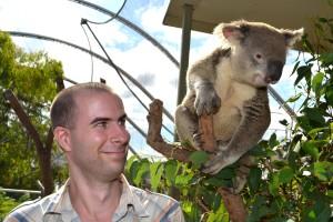 Já s koalou